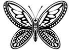 Coloring pages butterfly