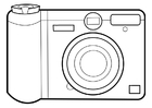 Coloring pages camera