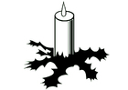 Coloring pages Candle