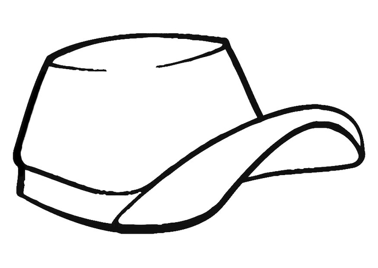 How To Draw A Cap Easy Step By Step | Coloring Pages For Kids ... | 531x750