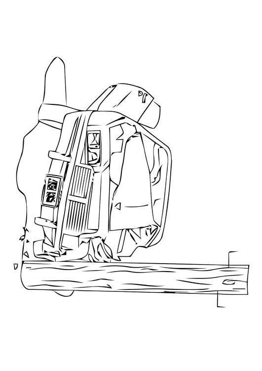 Coloring page car crash - img 11308.