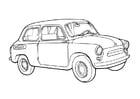 Coloring page car- zaz- 965