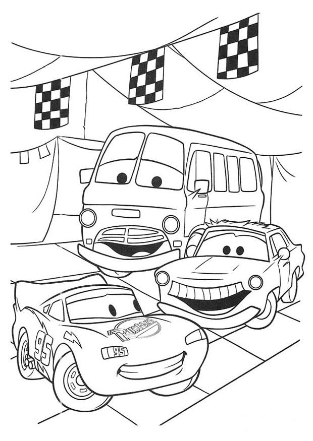Coloring page Cars img 20749