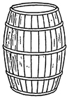 Coloring pages cask