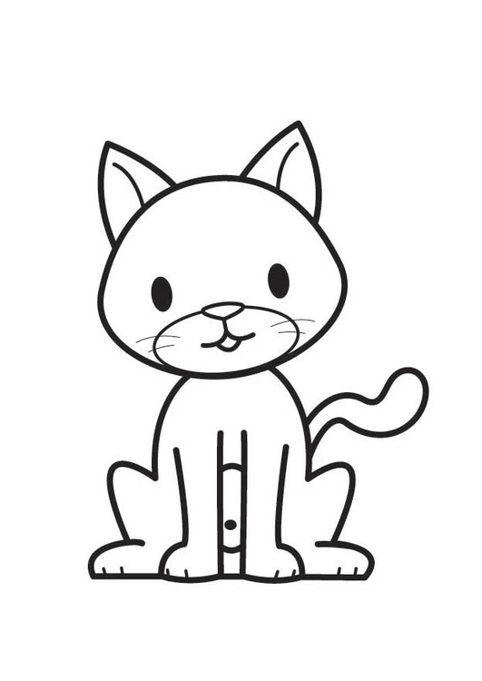 Coloring page Cat