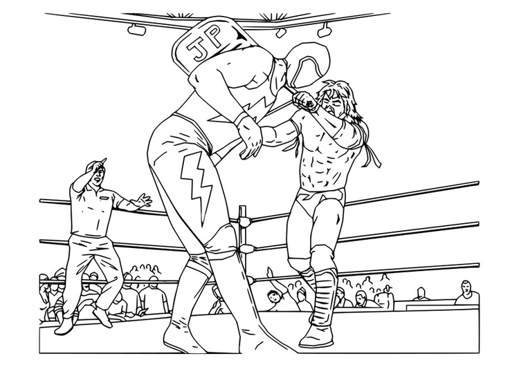 Coloring page catch