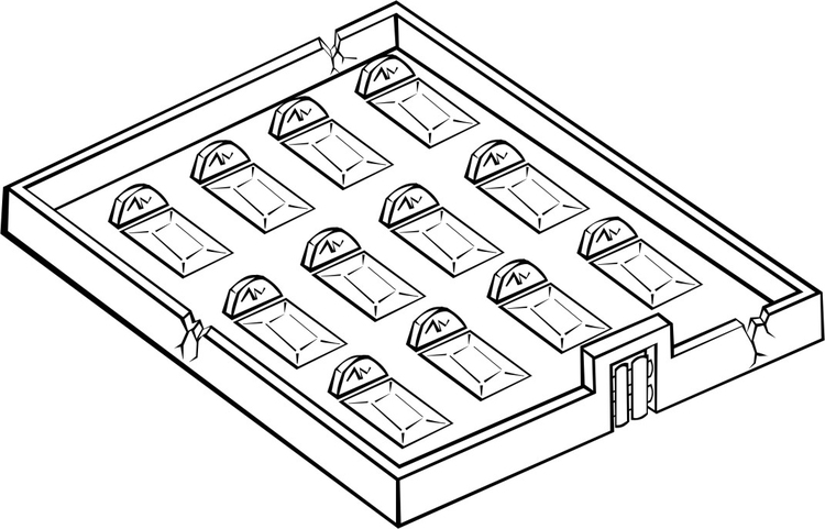 coloring page cemetery img 16197