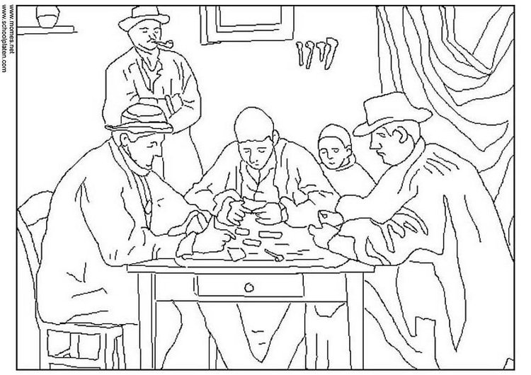 Coloring Page Cezanne Free Printable Coloring Pages Img 3113
