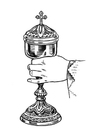 Coloring pages chalice