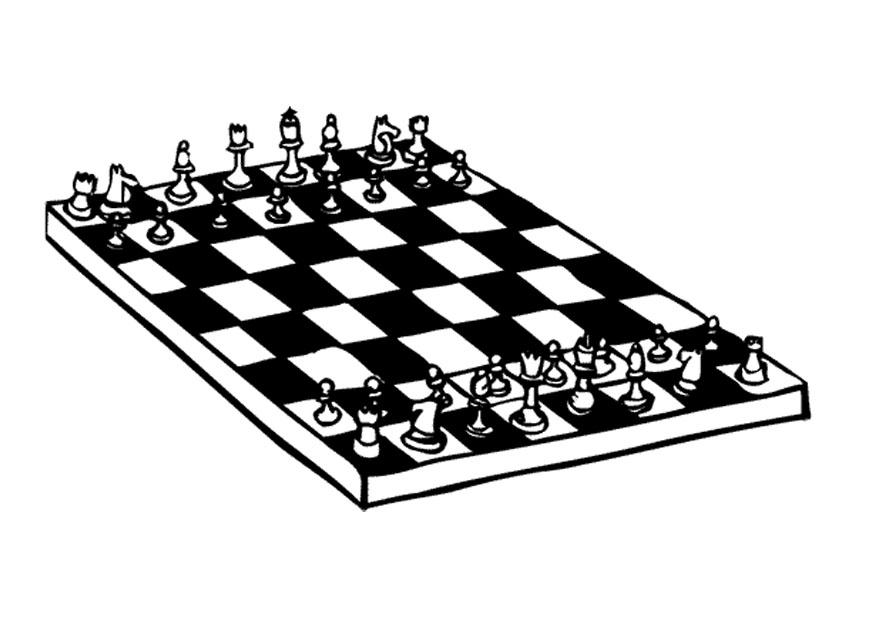 chess coloring pages downloads - photo#10