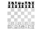Coloring pages chess