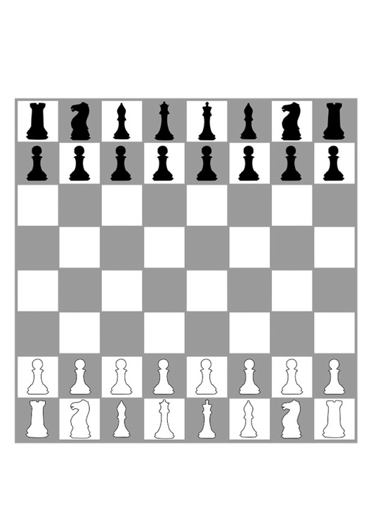 It's just an image of Chess Board Printable within game