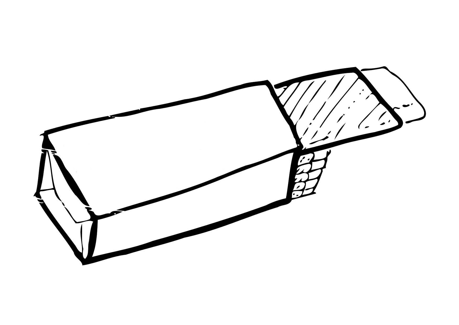 Coloring page chewing gum img 12307 for Gum coloring pages