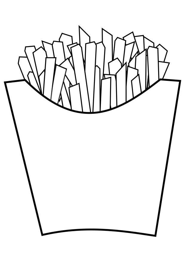 Coloring page chips - img 20189.