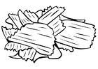 Coloring pages chips