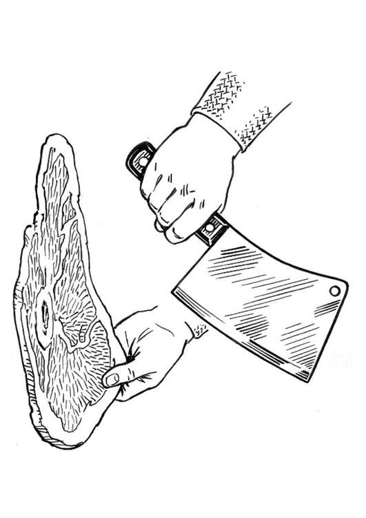 chopping knife