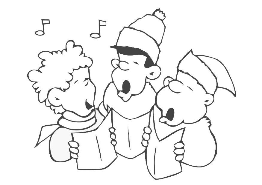 Coloring page christmas carol img 20375 for Christmas carol coloring pages