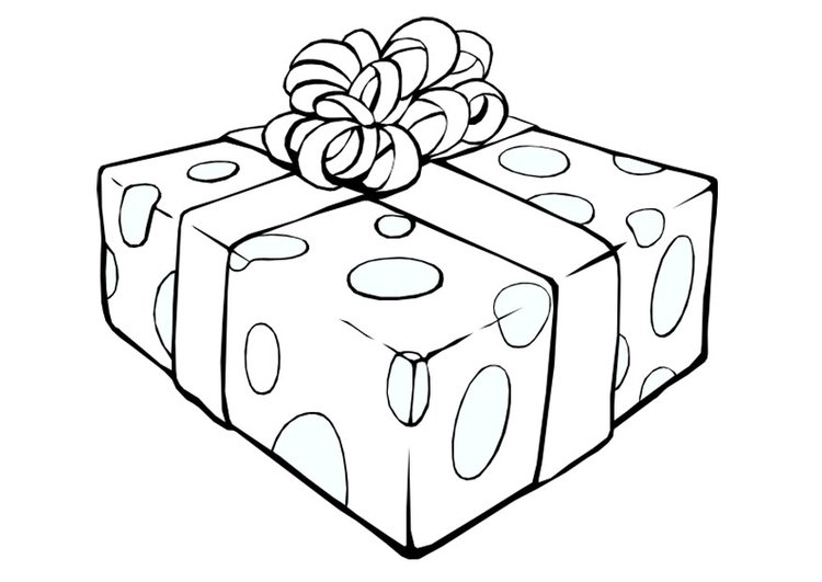 coloring page christmas present - Coloring Pages Christmas Presents
