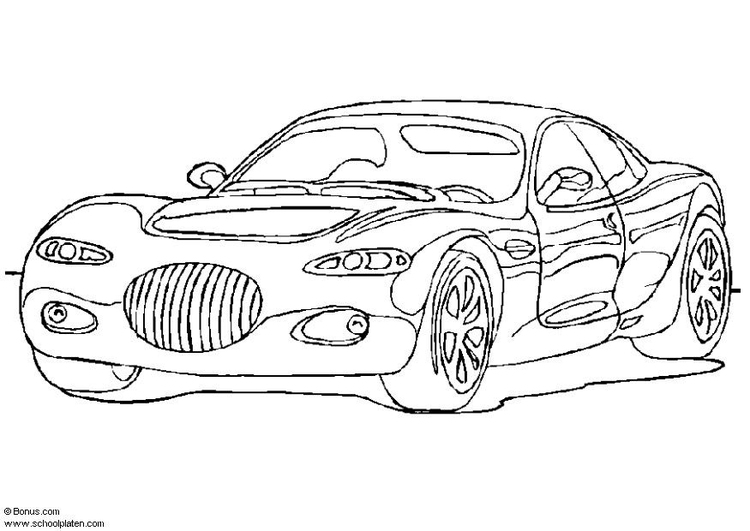 Coloring page Chrysler 300