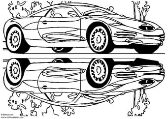 Coloring page Chrysler Showcar