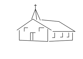 Coloring page church