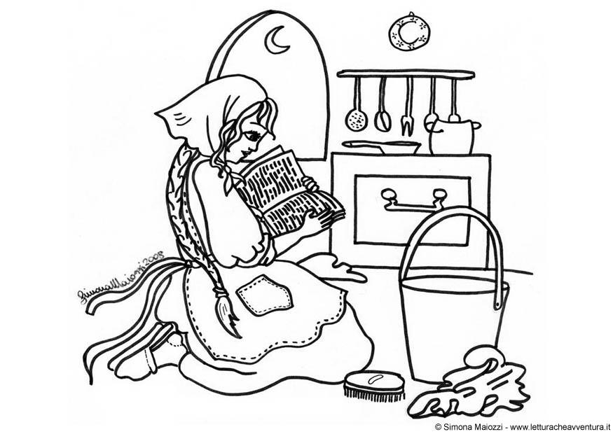 Coloring Page Cinderella Free Printable Coloring Pages