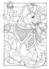 Coloring pages circus