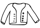 Coloring pages coat