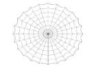 Coloring page cobweb