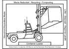 Coloring page container loader