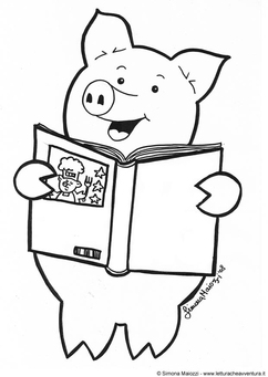 Coloring page cookbook