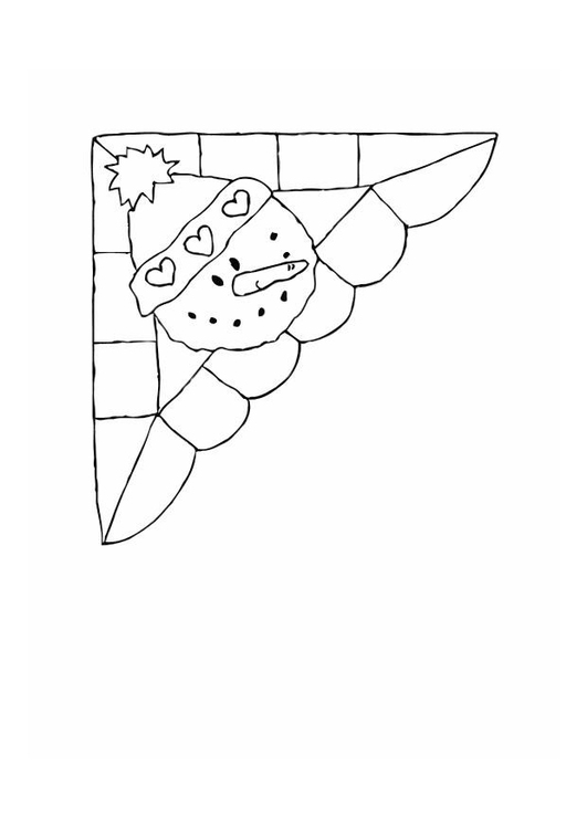 Coloring page corner