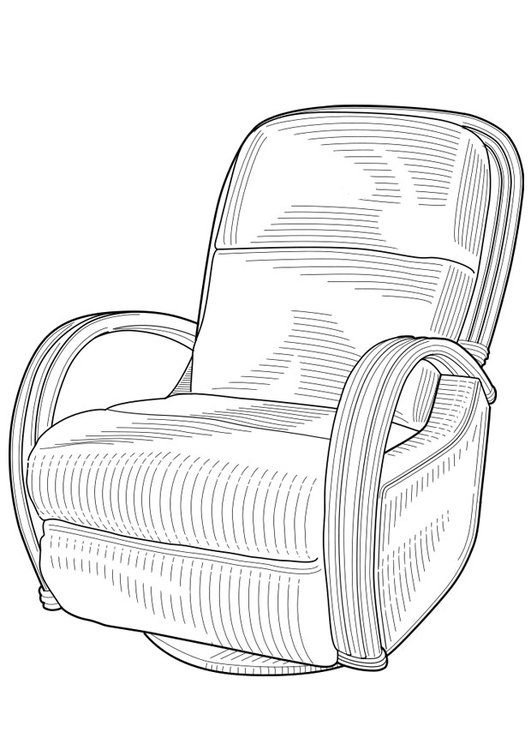 Coloring page couch