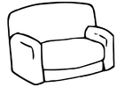Coloring pages couch