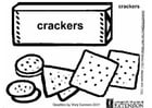 Coloring pages crackers