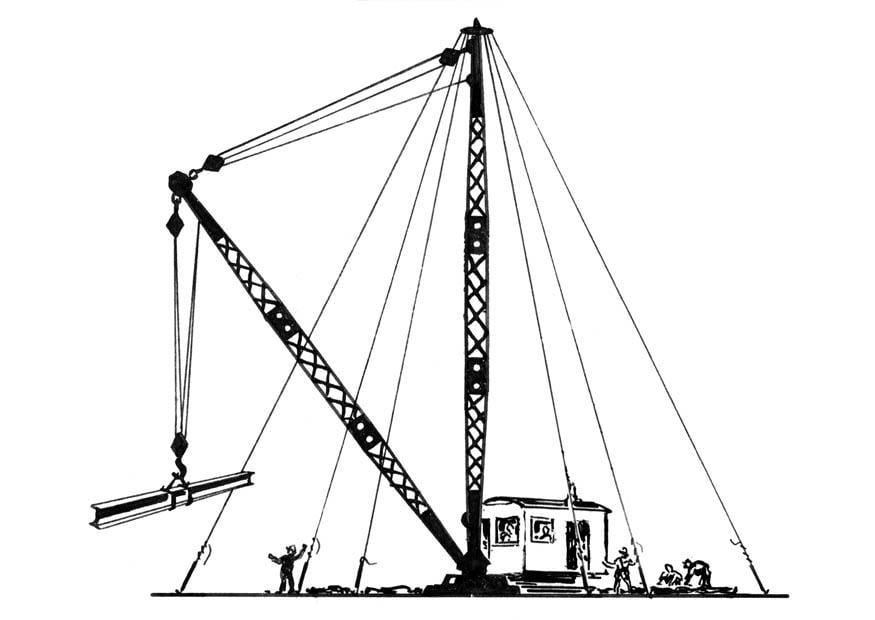 Kleurplaten Radip Coloring Page Crane Crane Arm Img 18875