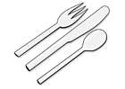 Coloring page cutlery