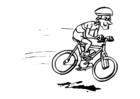Coloring pages cycling