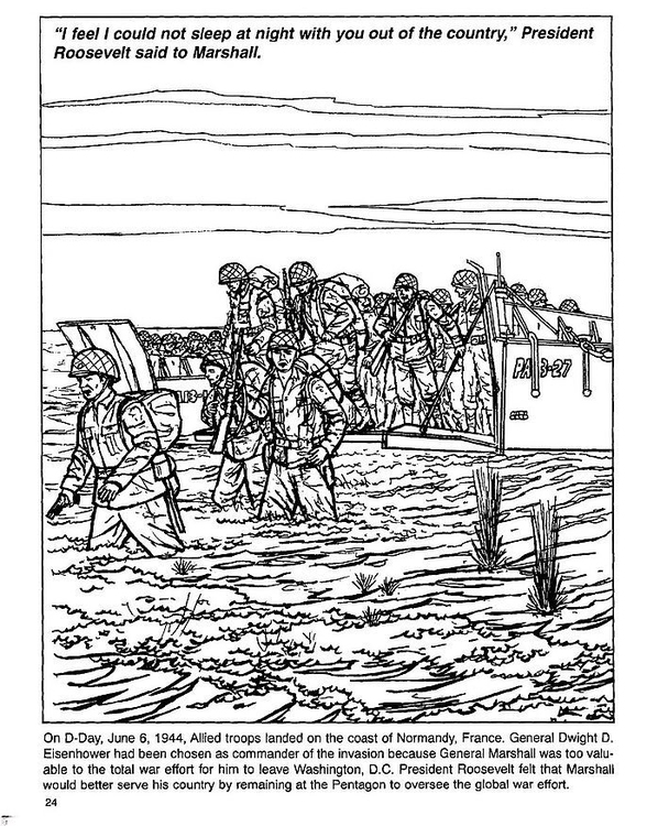 Coloring Page D Day Img 12818