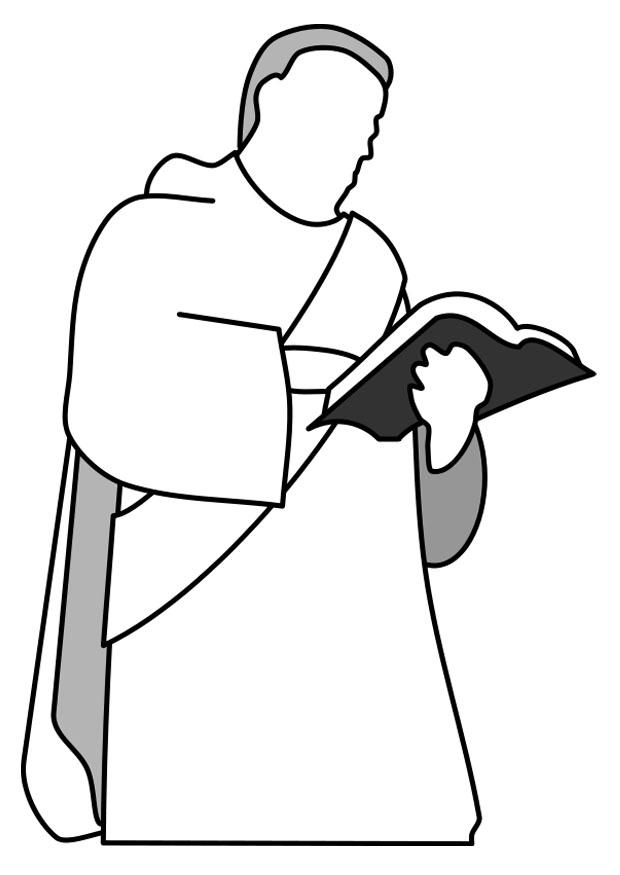 Coloring Page Deacon Free Printable Coloring Pages
