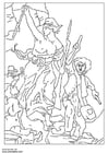 Coloring page Delacroix