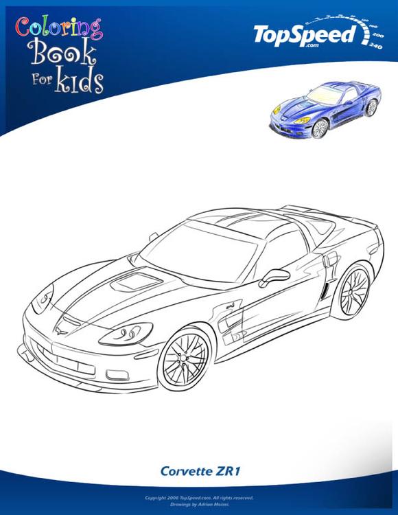 Coloring Page Detroit Auto Show 7