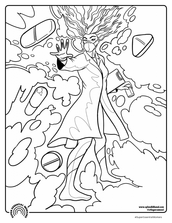 39 Doctor Coloring Pages Free Printable Coloring Pages