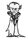 Coloring pages Dracula