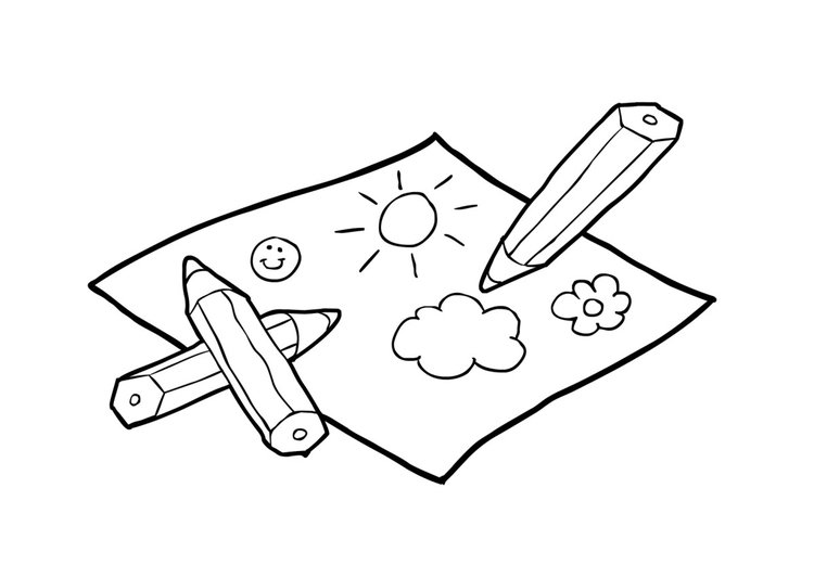 Coloring page Draw