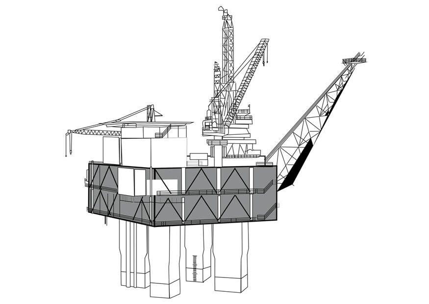 oil mining coloring pages - photo #35