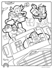 Coloring page driver