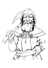 Coloring pages Dwarf - dwarf