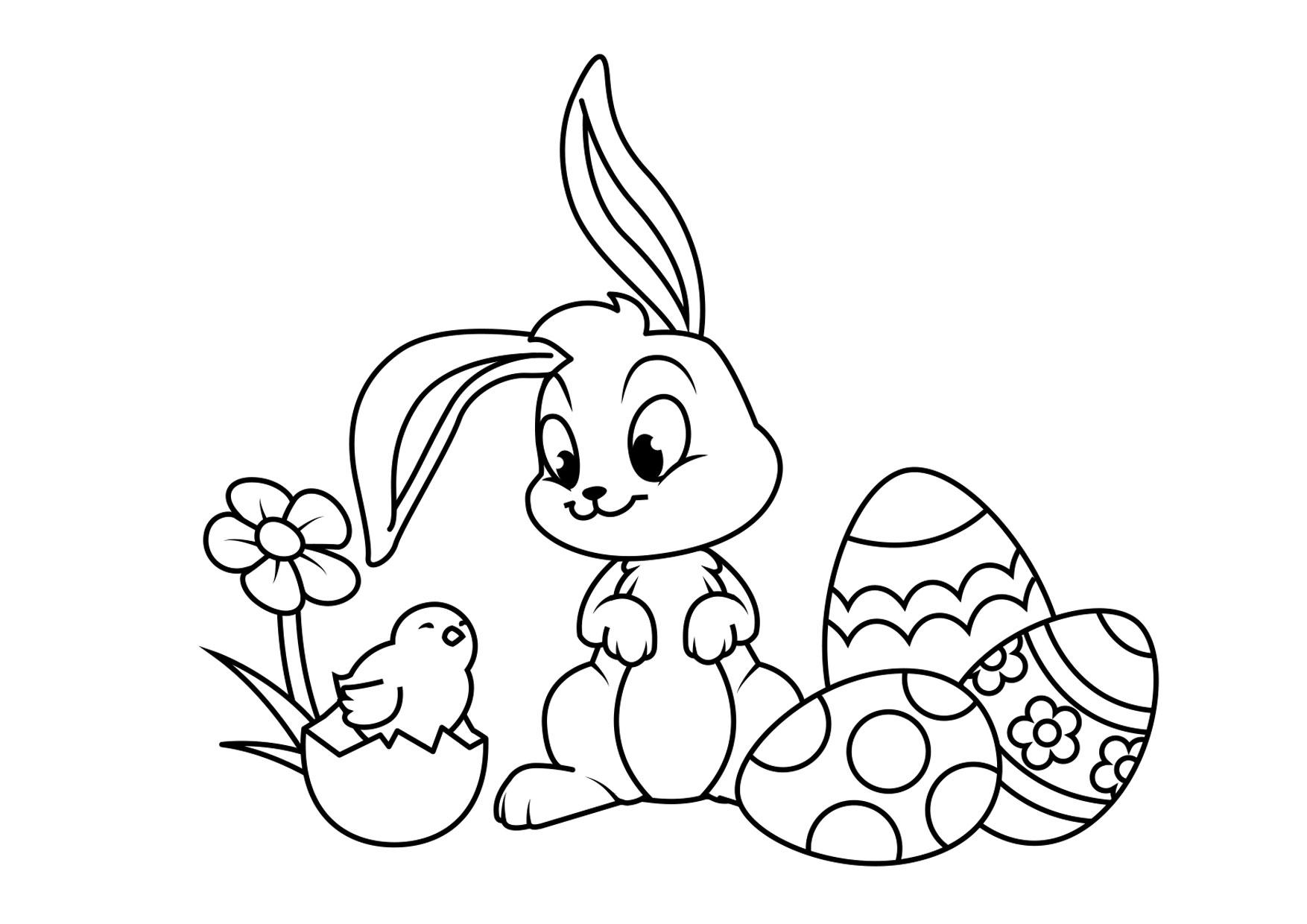 THE EASTER STORY Posters and Coloring Pages Set, Sunday School ... | 1240x1754