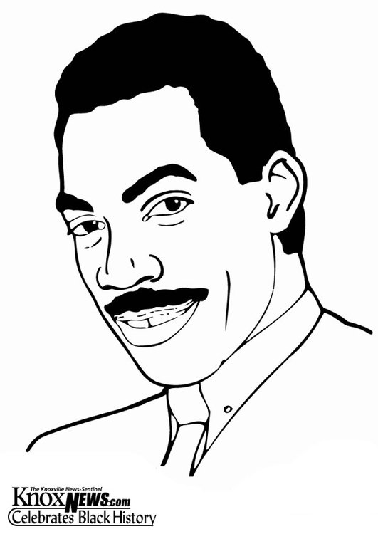 Coloring page Eddy Murphy